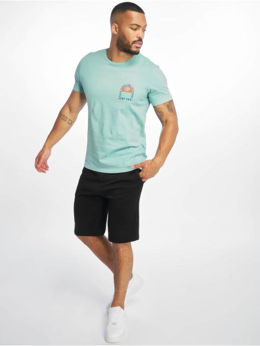 Jack & Jones T-skjorter jorSurfsoul blå