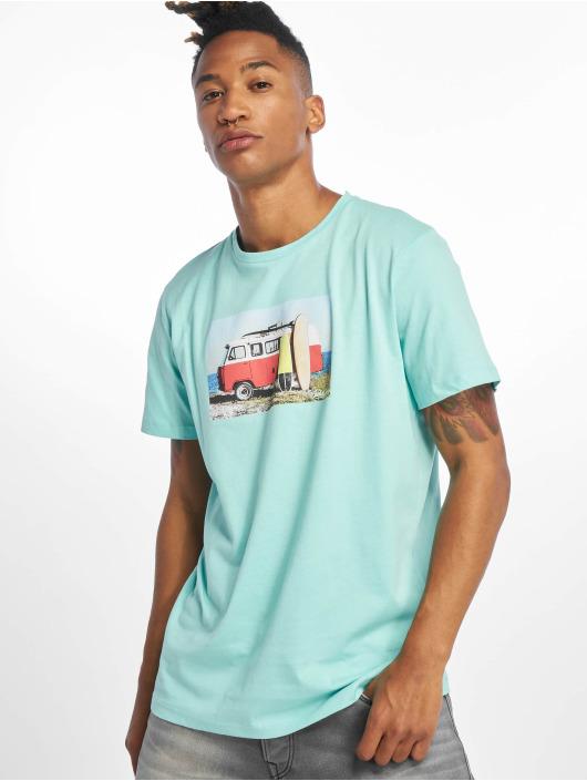 Jack & Jones T-skjorter jorHotel blå
