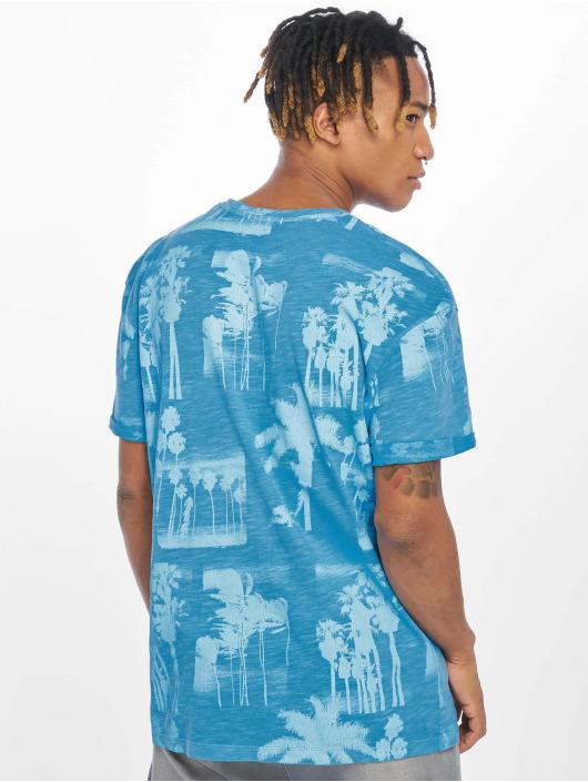 Jack & Jones T-skjorter jorPhotopalm blå