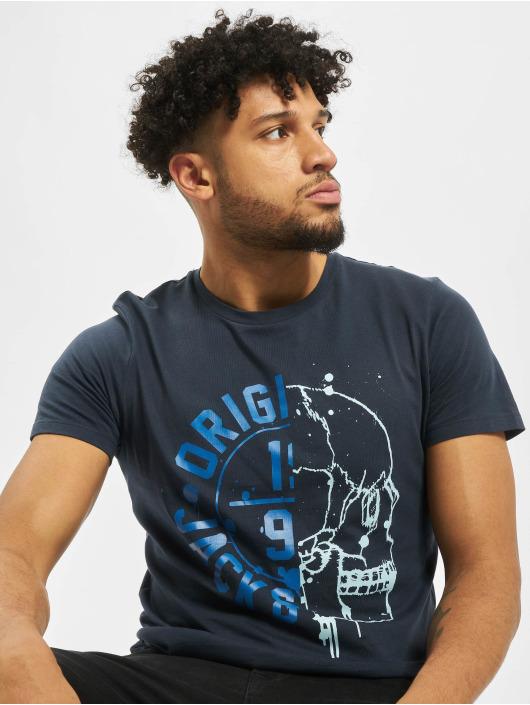 Jack & Jones T-skjorter jorHeat blå
