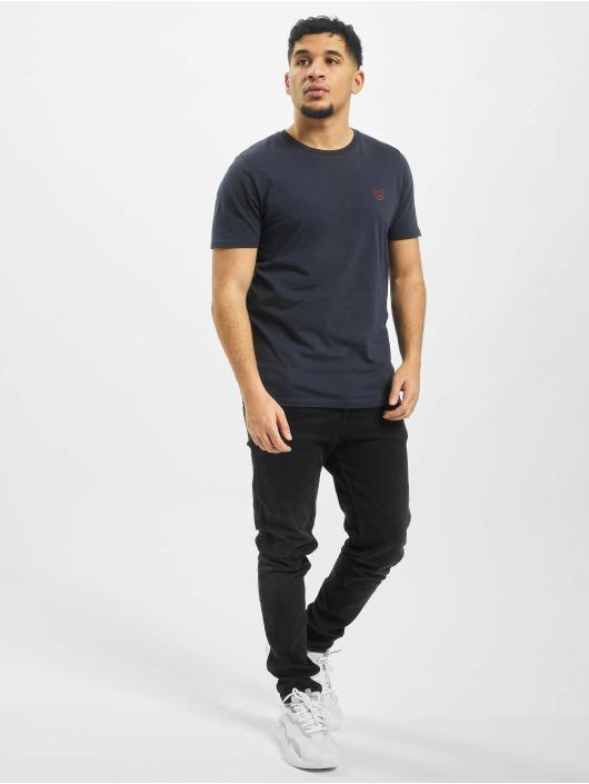 Jack & Jones T-skjorter jjeDenim Logo O-Neck Noos blå
