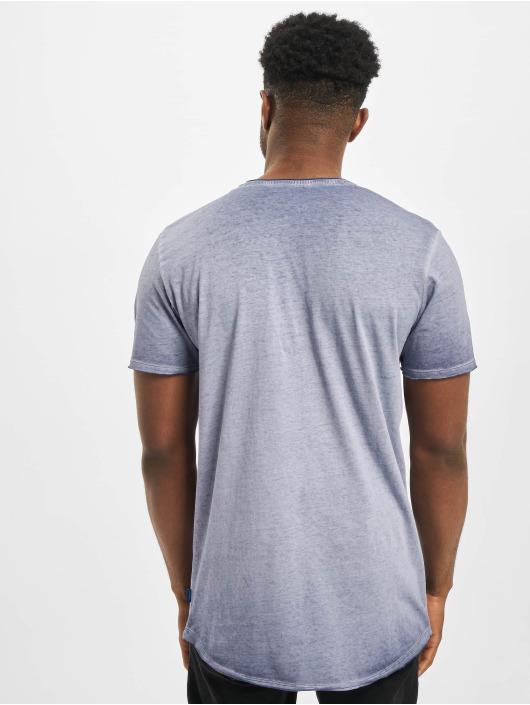 Jack & Jones T-skjorter jorKris BAS Crew Neck blå