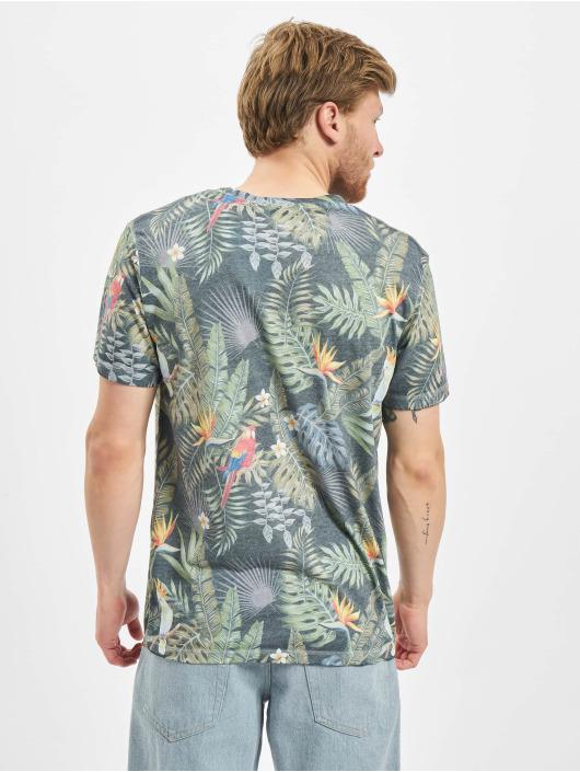 Jack & Jones T-skjorter jorTropicalbirds blå