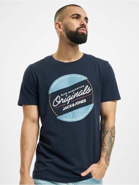 Jack & Jones T-skjorter jorTonni blå