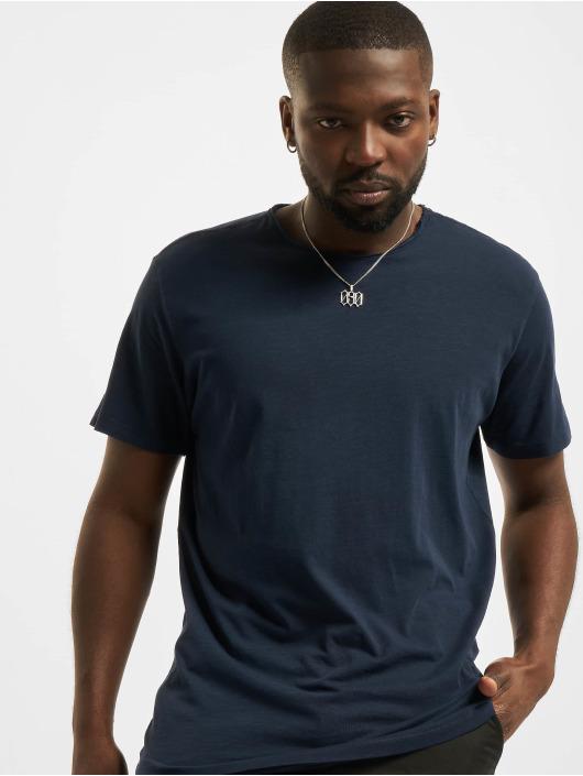 Jack & Jones T-skjorter Jjebasher O-Neck blå