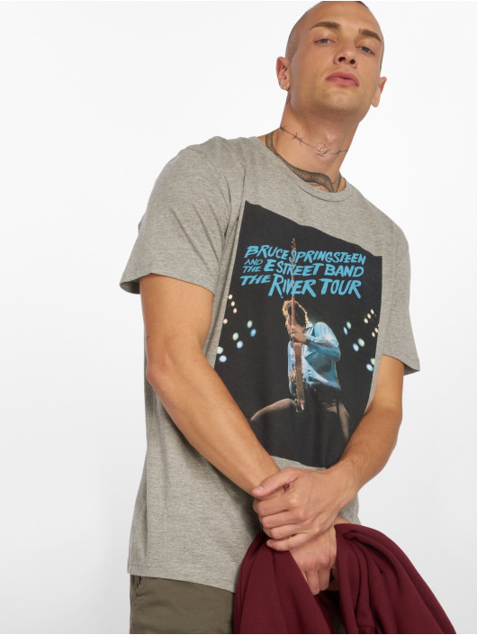 Jack & Jones T-skjorter jorRocked grå