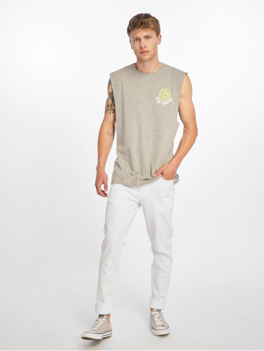 Jack & Jones T-skjorter jorNeon Muscle grå