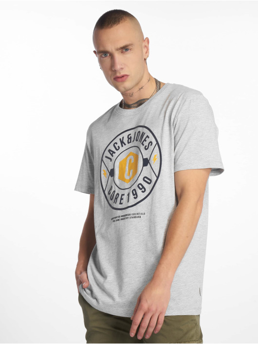 Jack & Jones T-skjorter jcoFresco grå