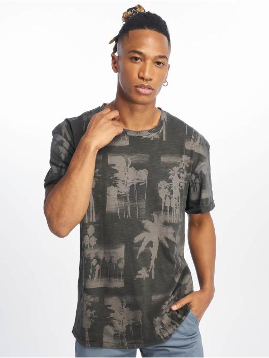 Jack & Jones T-skjorter jorPhotopalm grå