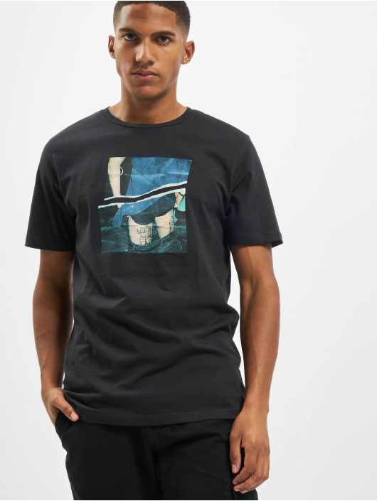 Jack & Jones T-skjorter jorCloseup Organic Crew Neck FST grå