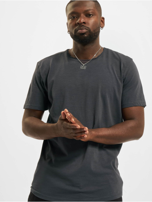 Jack & Jones T-skjorter Jjebasher O-Neck grå