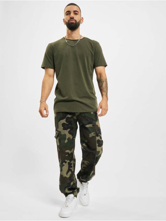 Jack & Jones T-skjorter Jjebasher O-Neck grøn