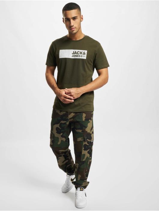 Jack & Jones T-skjorter Jjmula grøn