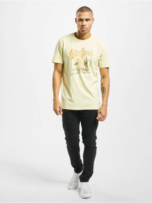 Jack & Jones T-skjorter Jprryan gul