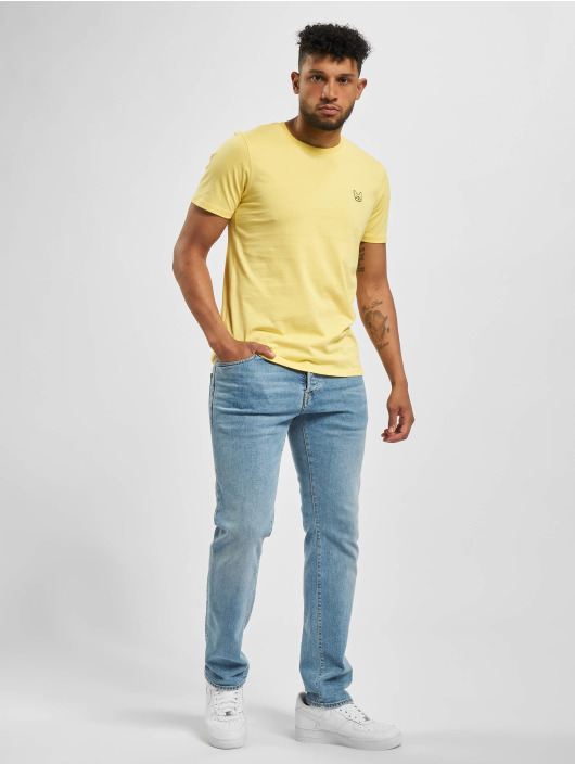 Jack & Jones T-skjorter jjeDenim Logo Noos gul