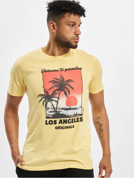 Jack & Jones T-skjorter jorKallo gul