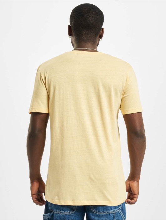 Jack & Jones T-skjorter Jorpoolside gul