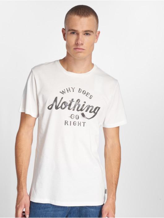 Jack & Jones T-skjorter jorSmoky hvit