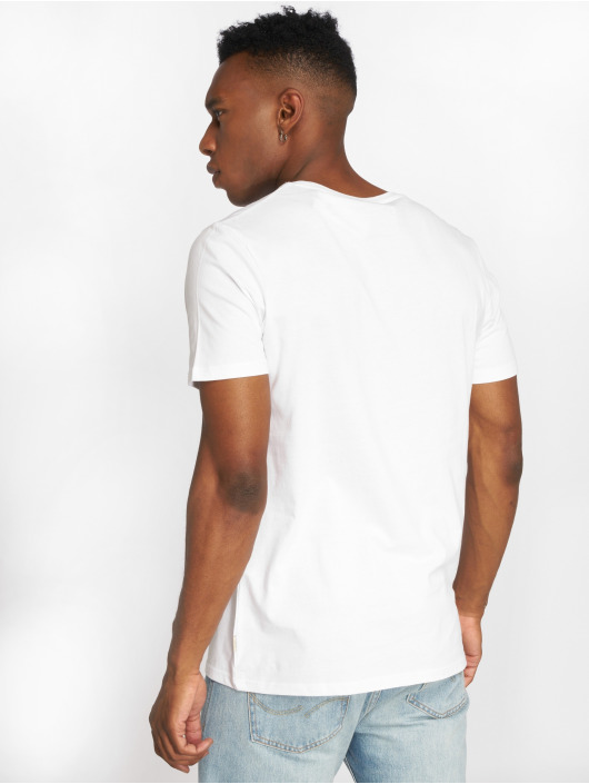 Jack & Jones T-skjorter jjePocket hvit