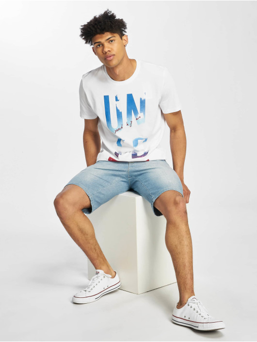 Jack & Jones T-skjorter jcoSpring-Feel hvit