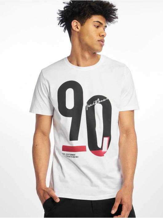 Jack & Jones T-skjorter jcoSpring-Feel hvit