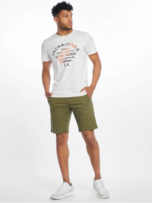 Jack & Jones T-skjorter jorDeepsurf hvit