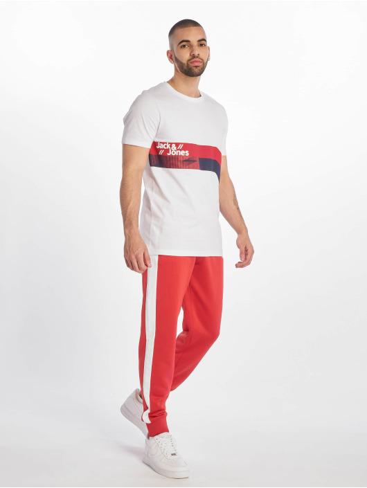 Jack & Jones T-skjorter jcoStairs hvit