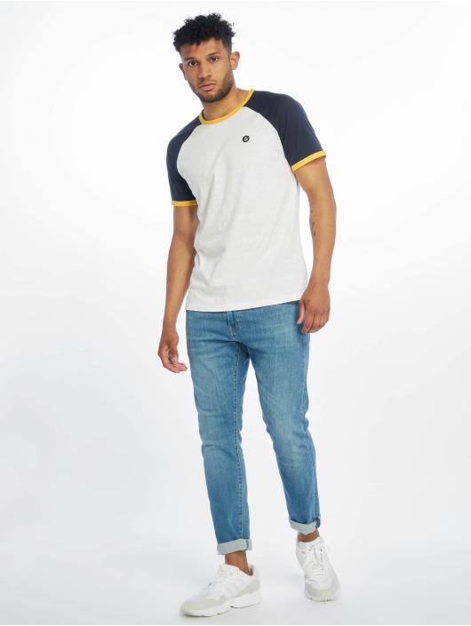 Jack & Jones T-skjorter jorRetroraglan hvit