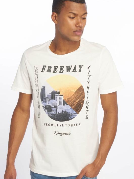 Jack & Jones T-skjorter jorSuburban hvit