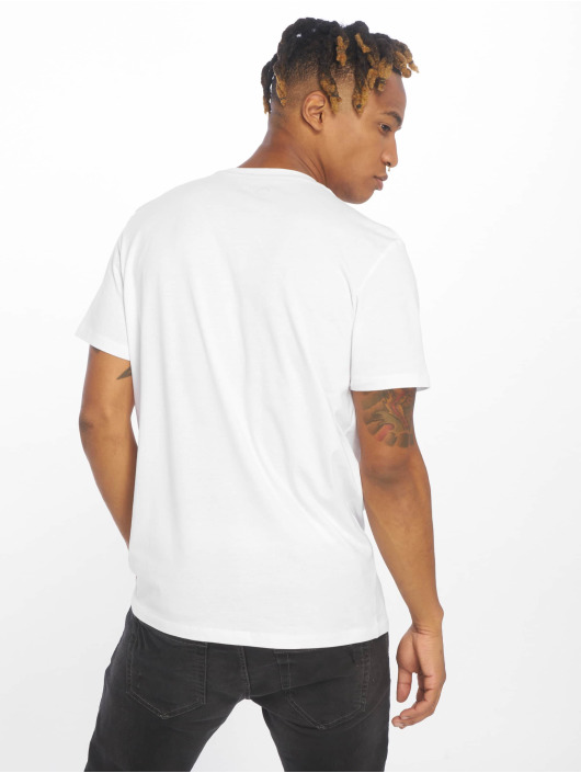 Jack & Jones T-skjorter jcoDustin hvit