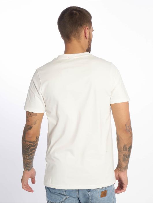 Jack & Jones T-skjorter jorMessenger hvit
