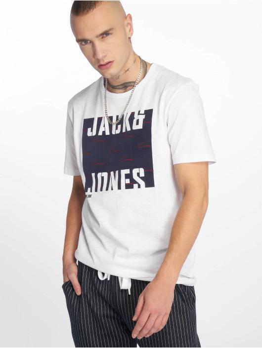 Jack & Jones T-skjorter jcoLaw hvit