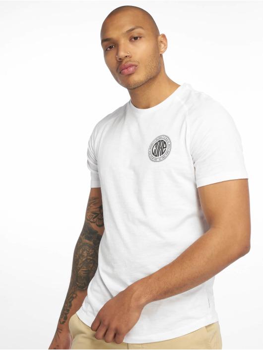 Jack & Jones T-skjorter jcoChain hvit