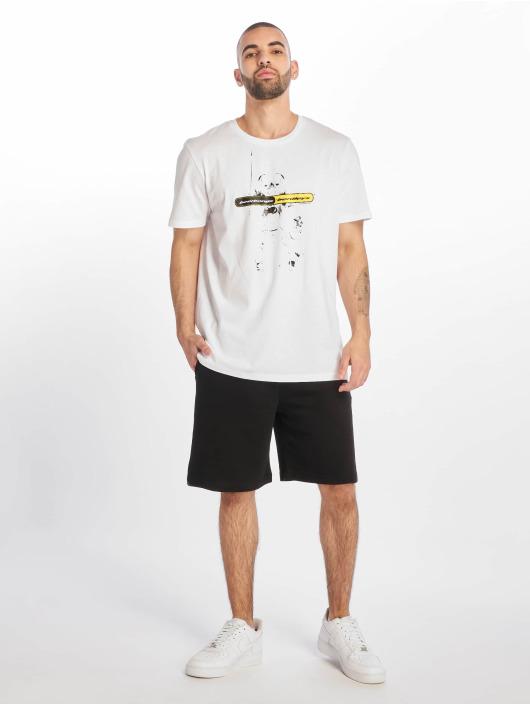 Jack & Jones T-skjorter jcoPosty hvit