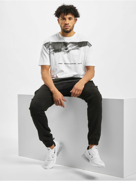 Jack & Jones T-skjorter jcoRoll hvit