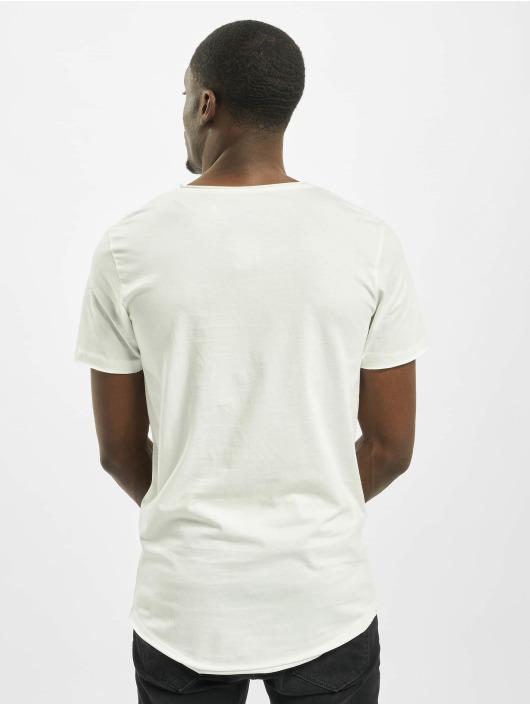 Jack & Jones T-skjorter jorDark City hvit