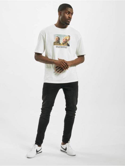 Jack & Jones T-skjorter jorMeme hvit