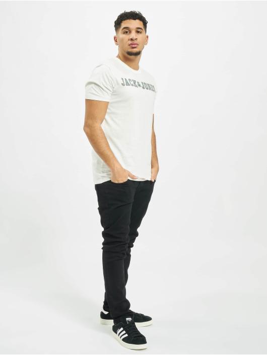Jack & Jones T-skjorter jprLogo hvit