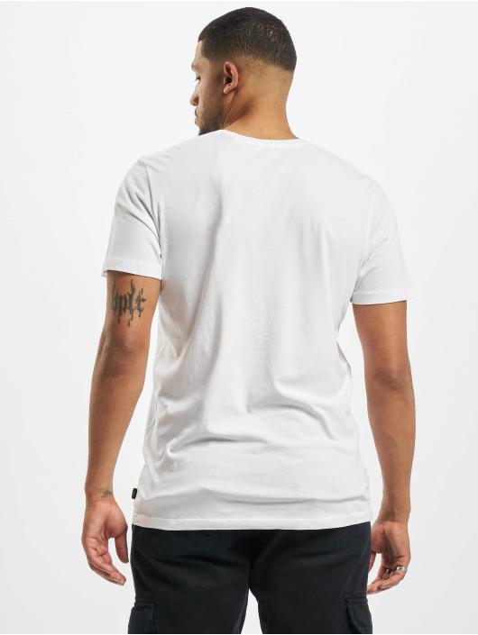 Jack & Jones T-skjorter jprZayn Bla. hvit