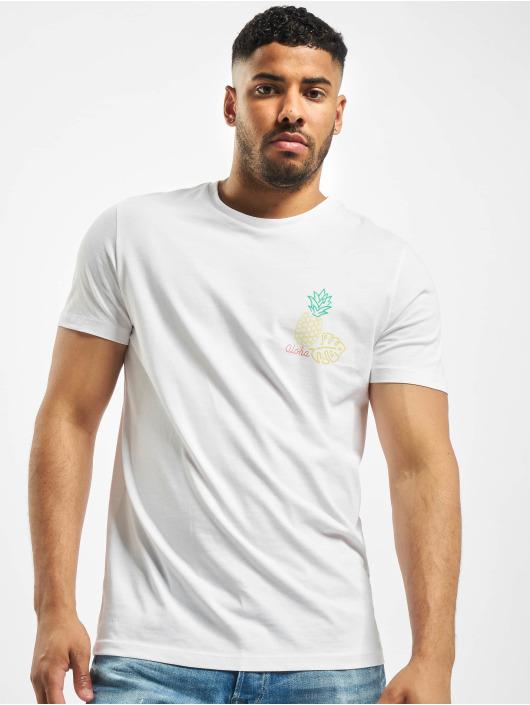 Jack & Jones T-skjorter jorSign hvit