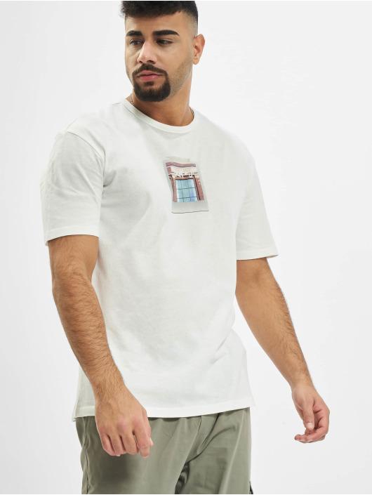 Jack & Jones T-skjorter jorAspen hvit
