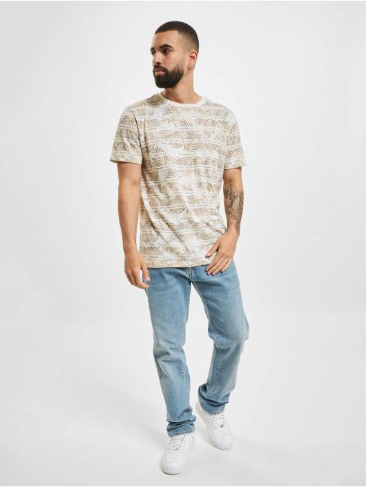 Jack & Jones T-skjorter JPR Bludust Placement Stripe hvit