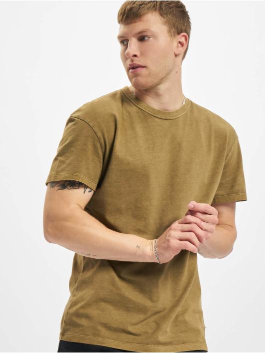 Jack & Jones T-skjorter Jprblarhett khaki
