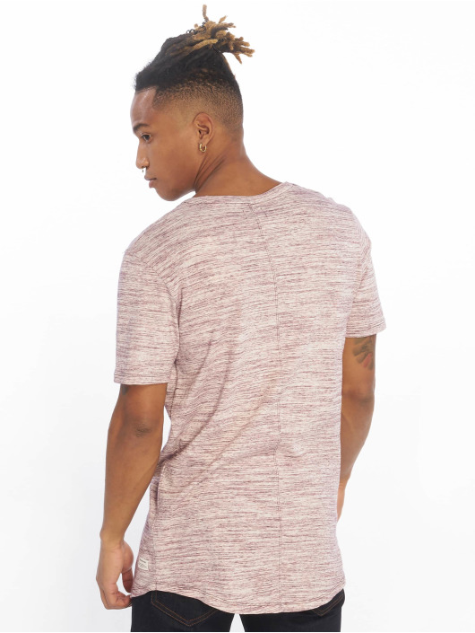 Jack & Jones T-skjorter jjeHugo Melanges lilla