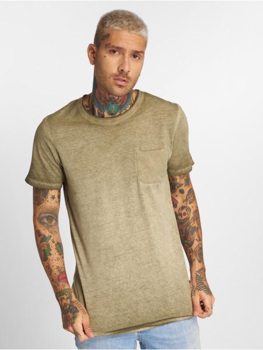 Jack & Jones T-skjorter jorJack Crew Neck oliven