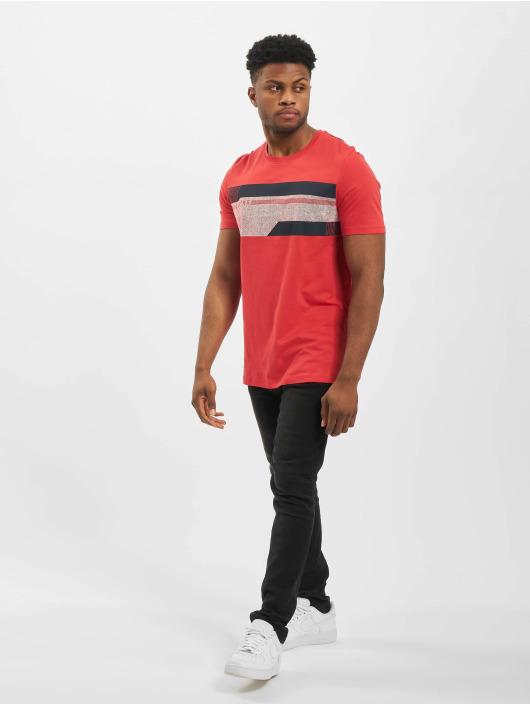 Jack & Jones T-skjorter jcoMonaco red
