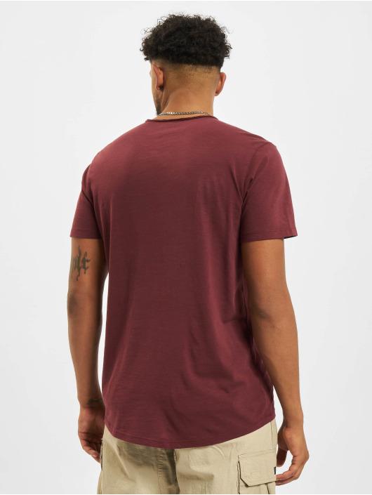 Jack & Jones T-skjorter Jjebasher O-Neck red