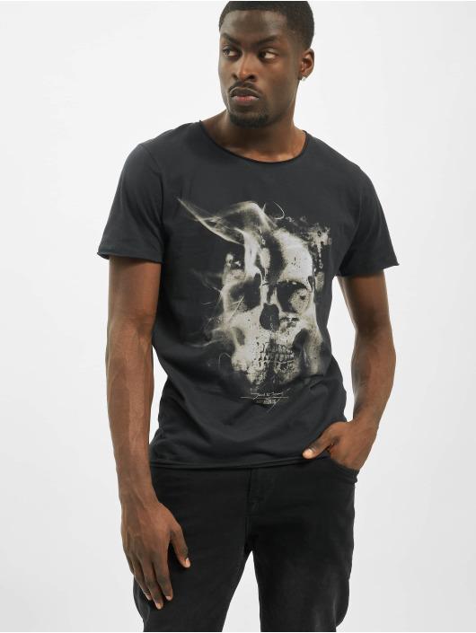Jack & Jones T-skjorter jorDark City svart