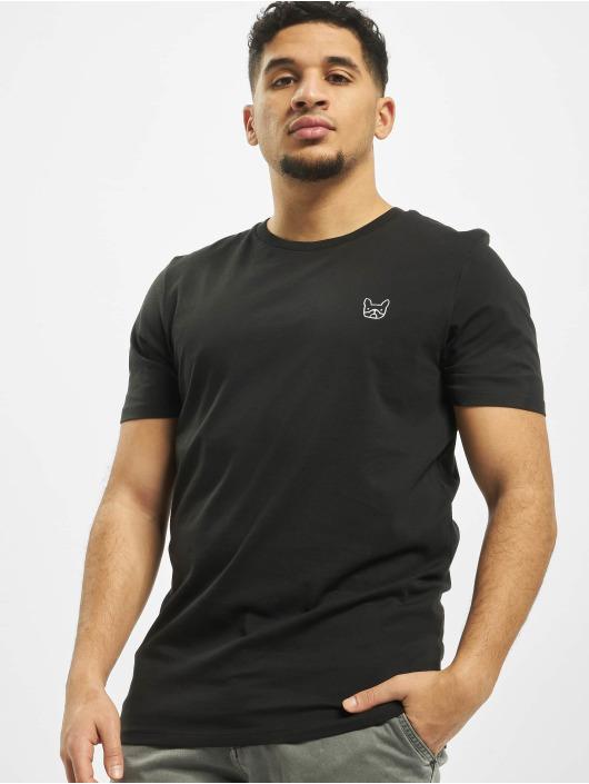 Jack & Jones T-skjorter jjeDenim Logo O-Neck Noos svart