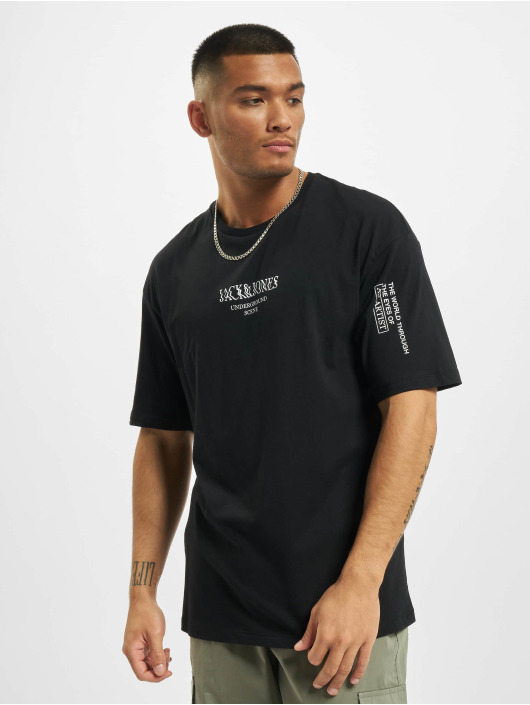 Jack & Jones T-skjorter jorTash svart